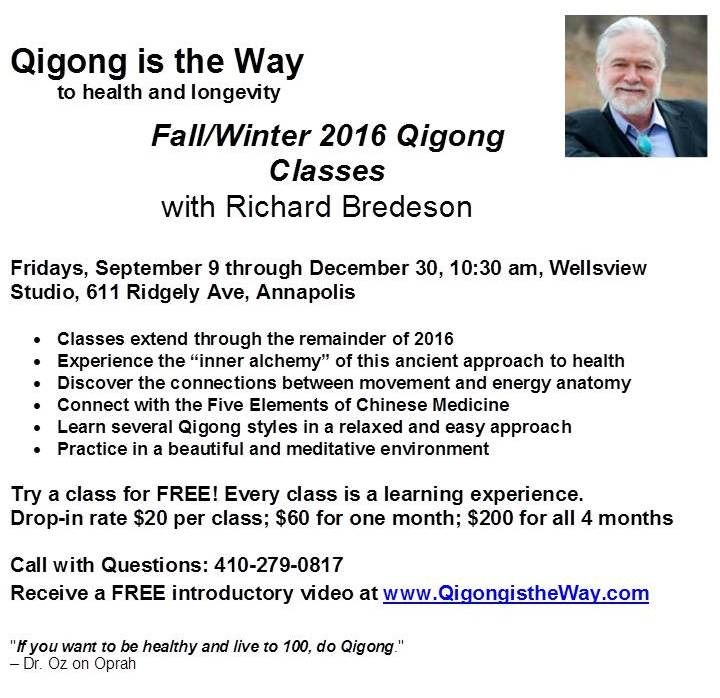 Qigong Classes with Richard Bredeson